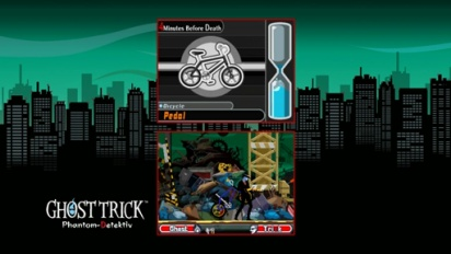 Ghost Trick: Phantom Detektiv - E3 2010: Trailer