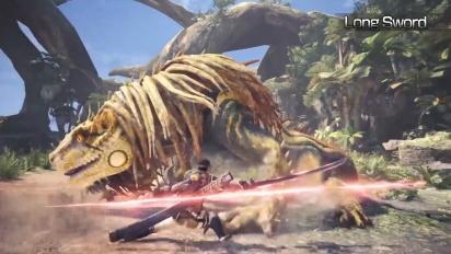 Monster Hunter: World - Light Weapons