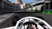 F1 2018 - Charles Leclerc Monaco Gameplay