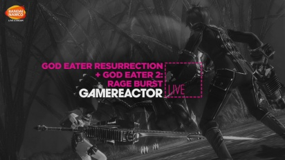 God Eater: Resurrection & God Eater 2: Rage Burst - Livestream-repris