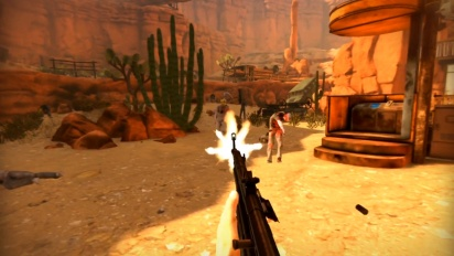 Arizona Sunshine - PSVR Aim Gameplay