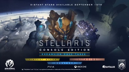 Stellaris: Console Edition - Expansion Pass Three Trailer