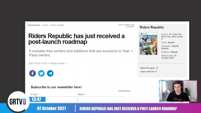 GRTV News - Riders Republic has just received a post-launch roadmap