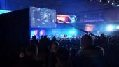 Publiken vrålar på Dreamhack 2017 i Tyskland