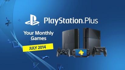 Playstation Plus - July 2014