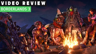 GRTV videorecenserar Borderlands 3