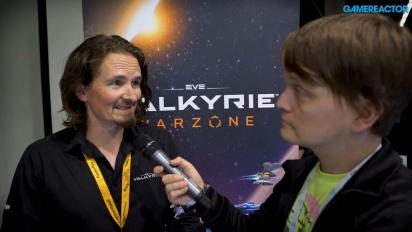 Eve: Valkyrie Warzone - Vi pratar med Andrew Willans