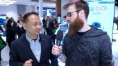 GRTV pratar om artificiell intelligens med LG under IFA