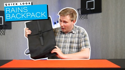 Rains Backpack - Quick Look