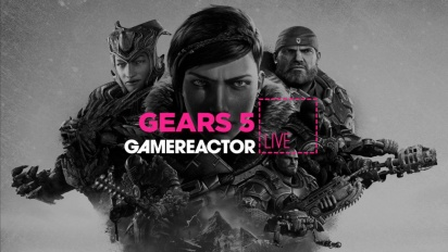 GRTV myser tillsammans med Gears 5