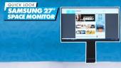 GRTV packar upp Samsung Space Monitor 27
