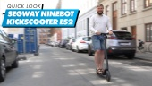 The Ninebot by Segway KickScooter ES2 - Quick Look