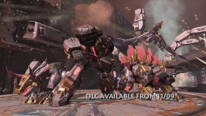 Transformers: Fall of Cybertron - DLC Trailer