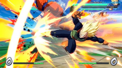 Dragon Ball Fighterz - Gameplay med två spelare på Switch