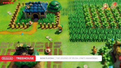 The Legend of Zelda: Link's Awakening  Nintendo Treehouse Gameplay E3 2019
