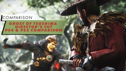 Ghost of Tsushima - PS4 & PS5 Comparison