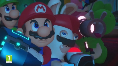 Mario + Rabbids Kingdom Battle - Preview Trailer