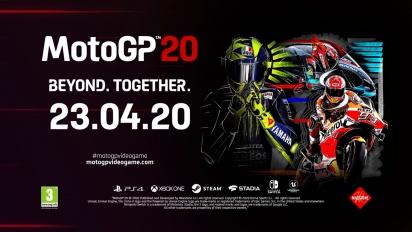 MotoGP 20 - Announcement Trailer