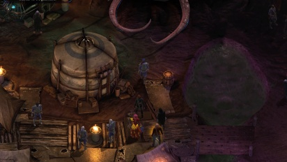 Gameplay fra Torment: Tides of Numenera