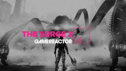 GRTV myser lite tillsammans med The Surge 2