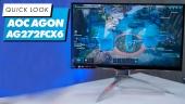 GRTV packar upp AOC Agon AG272FCX6