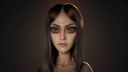 Alice: Asylum - Alice - 3D Model Head & Body Turntable