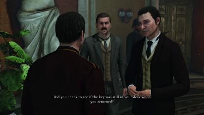 Sherlock Holmes: Crimes & Punishments - Art of Interrogation Trailer
