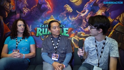 GRTV intervjuar Blizzard om Hearthstone: Rastakhan's Rumble
