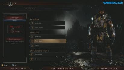 Mortal Kombat 11 - Alla inställningar