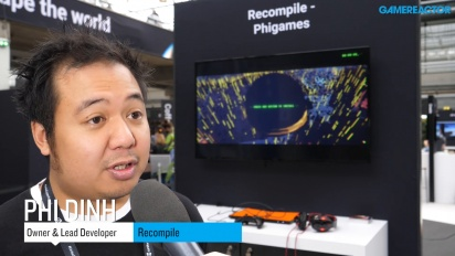 GRTV snackar med skaparen av Recompile