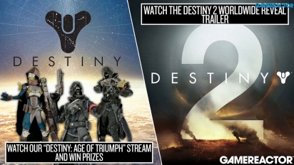 Vi livestreamar Destiny: Age of Triumph & Destiny 2