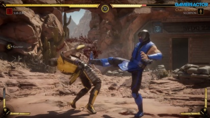 Mortal Kombat 11 - Sub-Zero, Scorpion, and Sonya