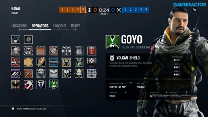 Rainbow Six: Siege - Goyo Gameplay