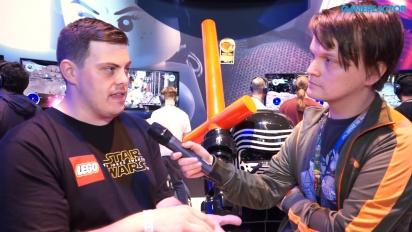 Lego Star Wars: The Force Awakens - Jamie Eden-intervju