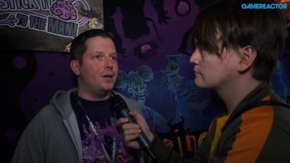 Flipping Death - Gamereactor intervjuar Mikael Forslind