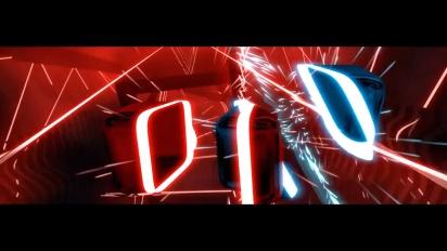 Beat Saber - PSVR Launch Date Trailer