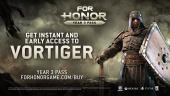 For Honor - Year 3 Season 1 New Hero - Vortiger Cinematic Reveal Trailer