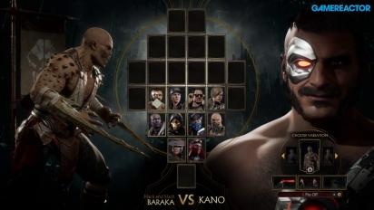 Mortal Kombat 11 - Baraka vs Kano