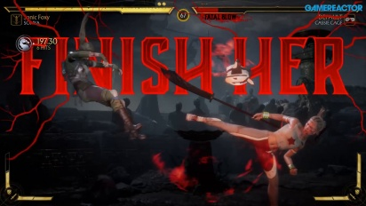 GRTV spelar Mortal Kombat 11: Sonya vs Cassie Cage