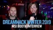 GRTV på Dreamhack 19: Vi besöker MSI:s bås