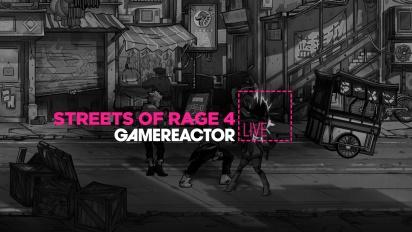 GRTV spelar Streets of Rage 4