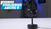 GRTV packar upp nya Steelseries Arctis 9