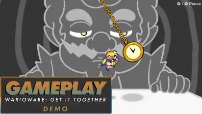 WarioWare: Get It Together! - Gameplay