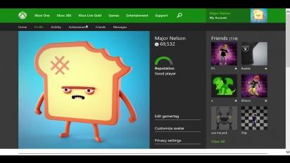 Xbox One - Xbox One Profile coming to Xbox.com