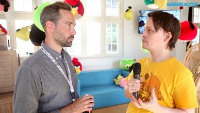 Angry Birds 2 - Oskar Burman-intervju