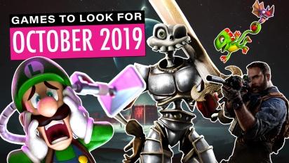 GRTV listar spel i oktober du bör hålla utkik efter