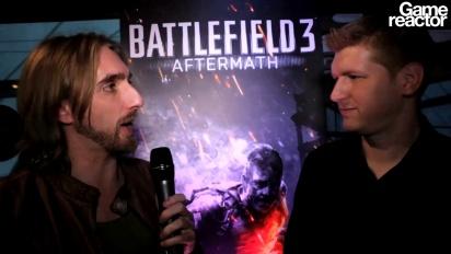 Battlefield 3: Aftermath - Intervju