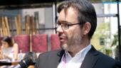 GRTV intervjuar Röda korsets Christian Rouffaer