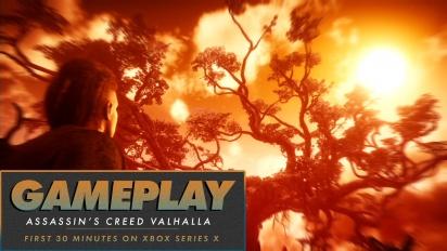 Assassin's Creed Valhalla - Den första halvtimmen