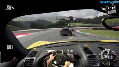 Vi spelar Forza Motorsport 7 med Fanatics Porsche CSW V2.5-ratt